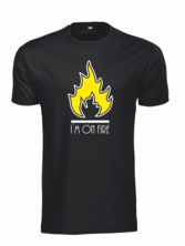 T-shirt I´m on fire